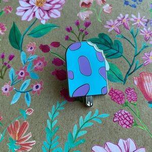 🌿 Sulley Ice Cream Pin